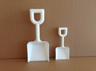 Novelty Shovel - White - 5 Inch