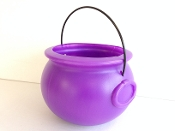 Cauldron - 8'' Purple